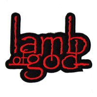 Lamb Of God Red Logo Patch