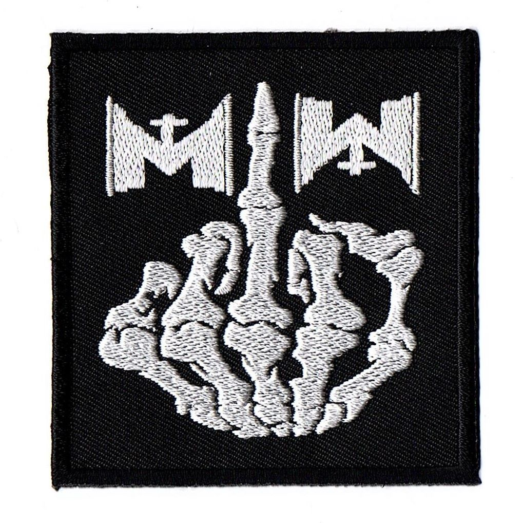 Motionless In White Finger Patch