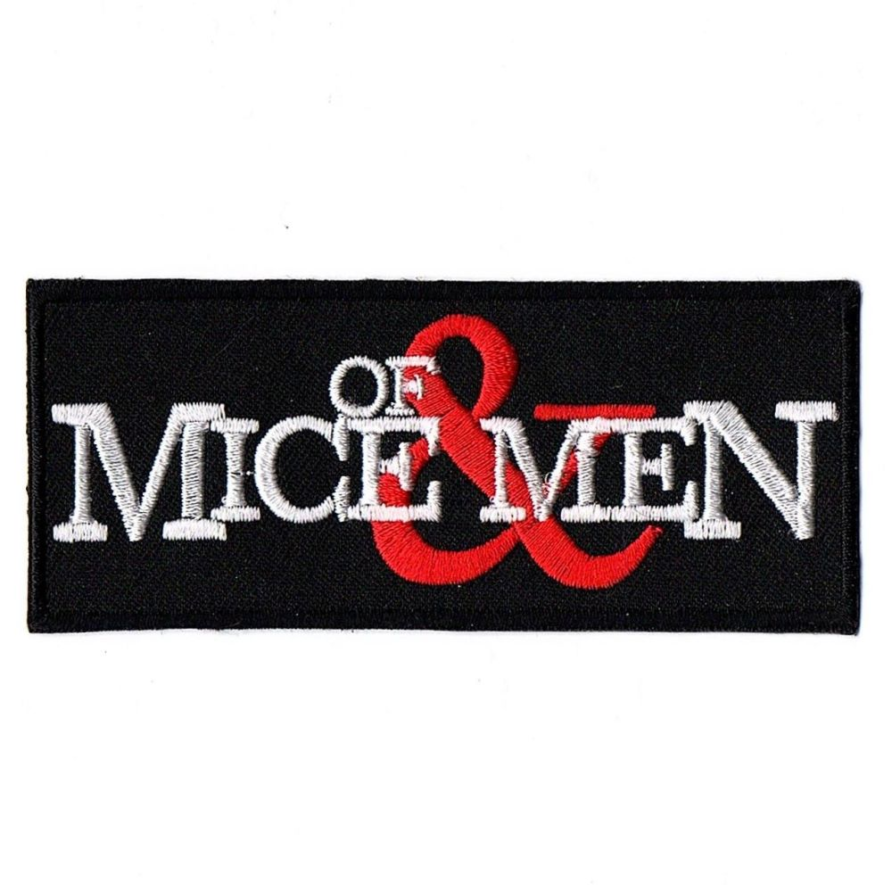 Of Mice And Men Logo Patch