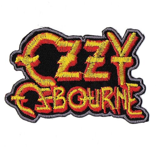 Ozzy Osbourne Logo Patch