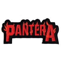 Pantera Flame Patch