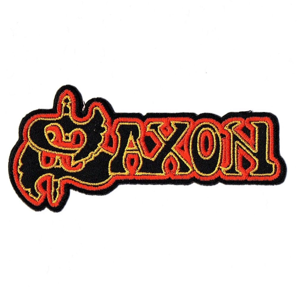 Saxon Cut Out Logo Patch