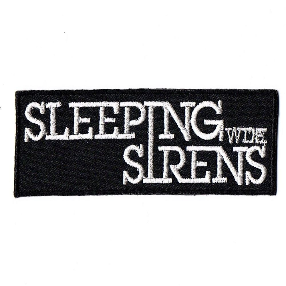 Sleeping With Sirens Logo Patch