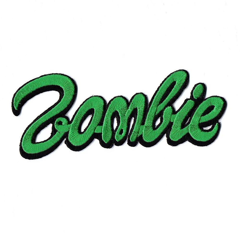 Kreepsville 666 Zombie Barbie Green Patch