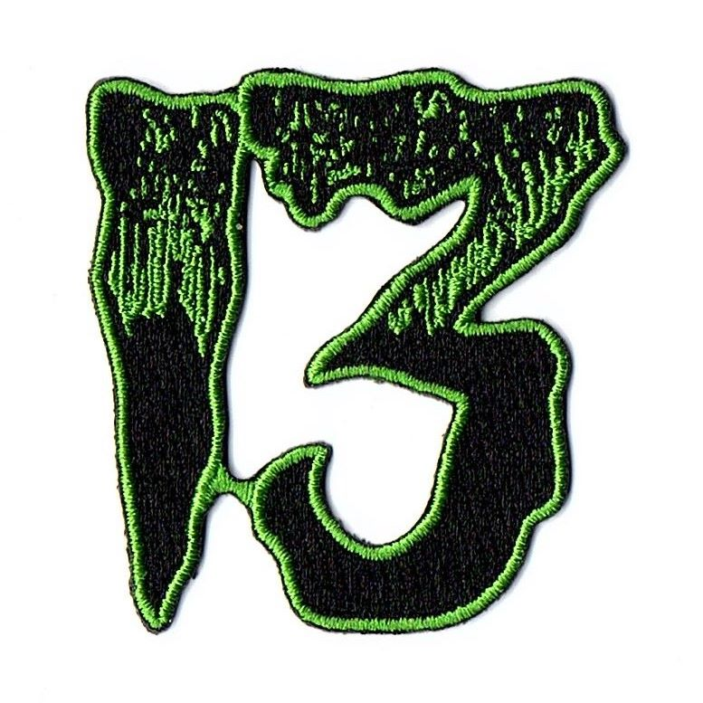 Kreepsville 666 Unlucky 13 Green Patch