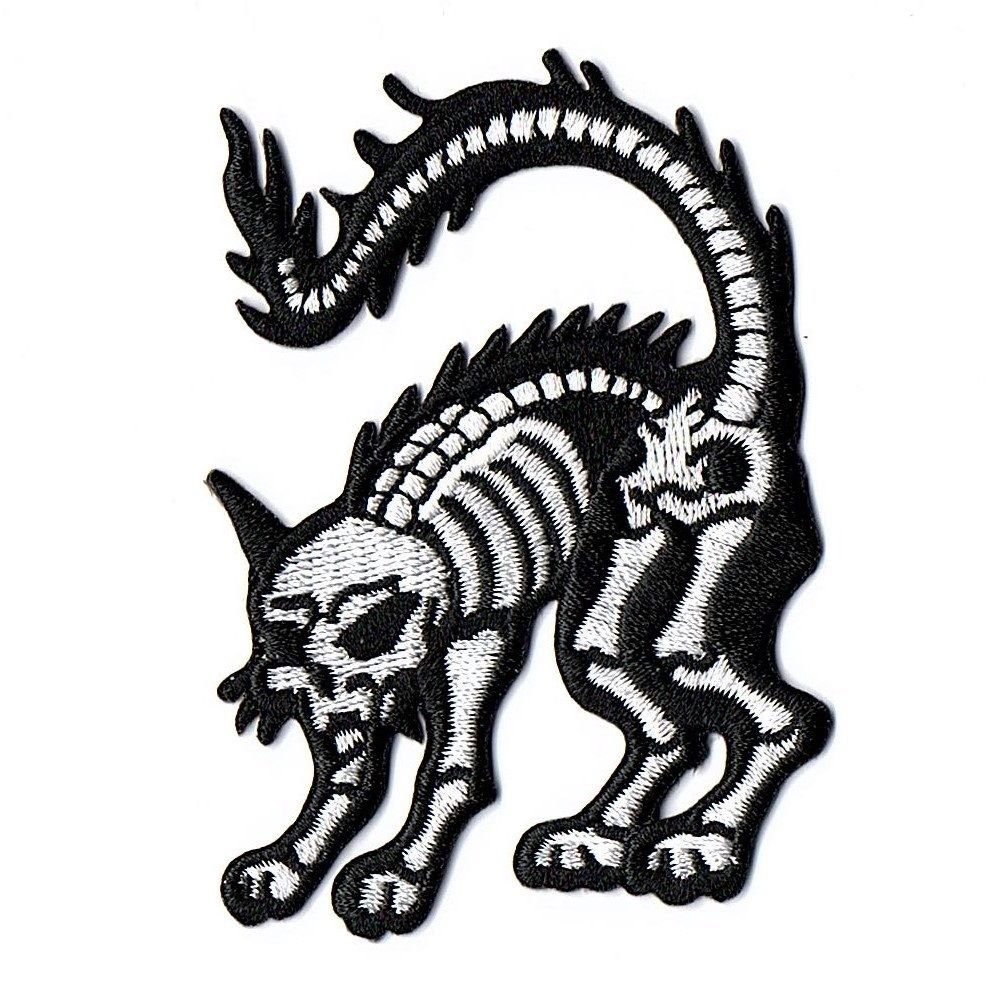 Kreepsville 666 X Ray Cat Patch