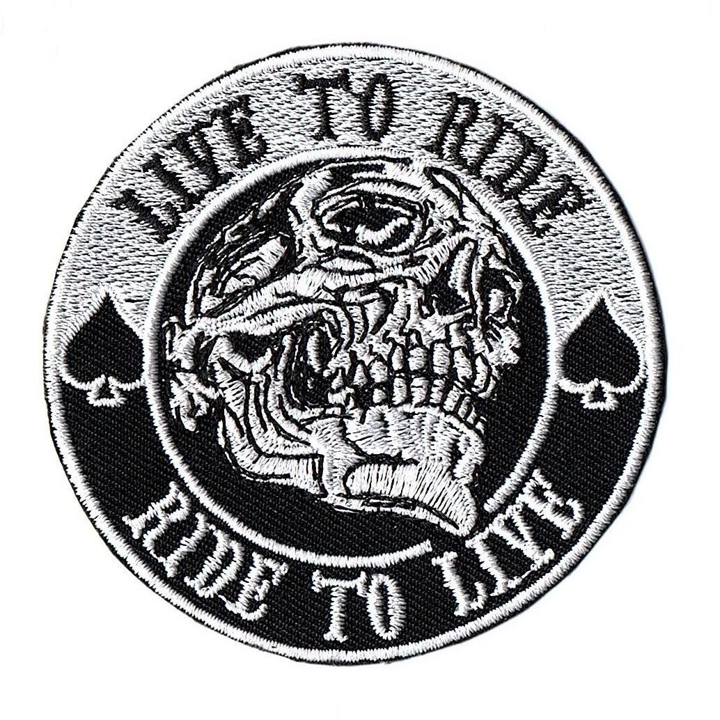Live To Ride Ride To Live Patch