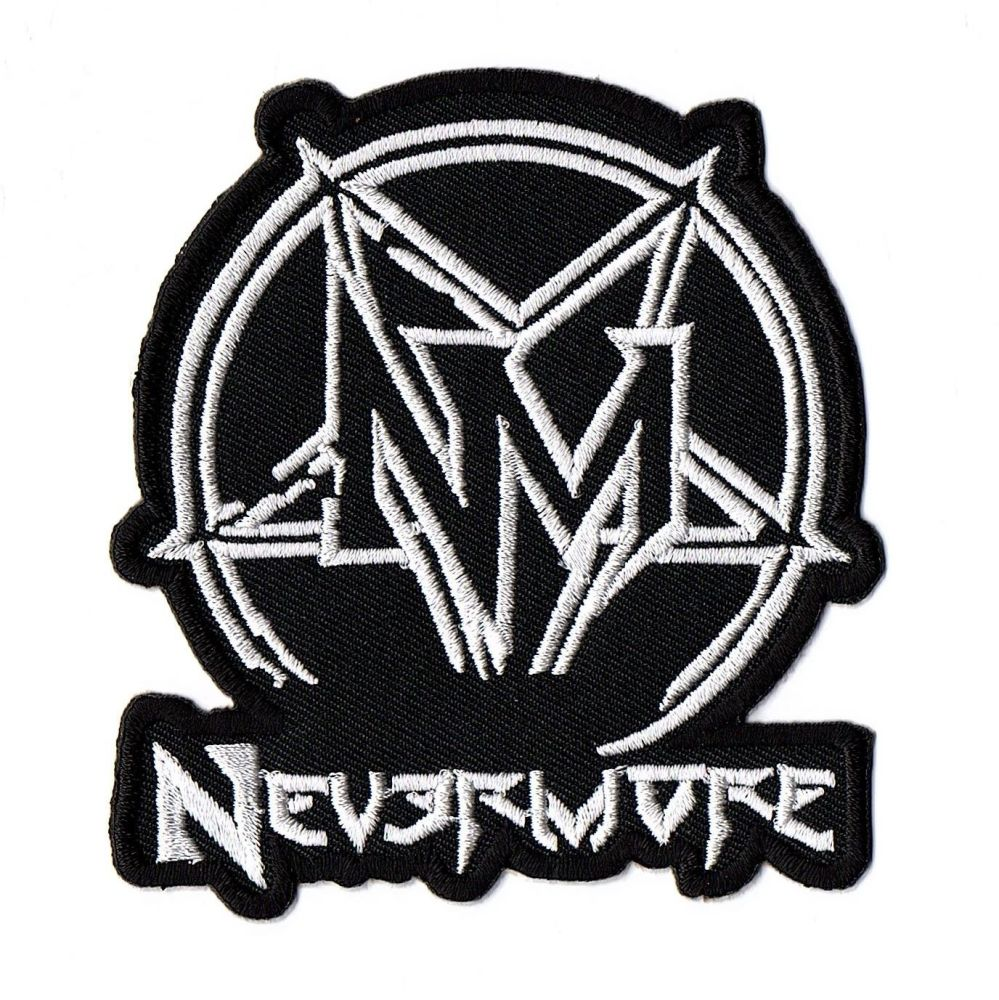 Nevermore Logo Patch