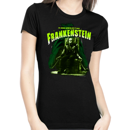 Rock Rebel Frankenstein Electric Chair Tshirt