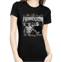 Rock Rebel Bride Of Frankenstein We Belong Dead Tshirt