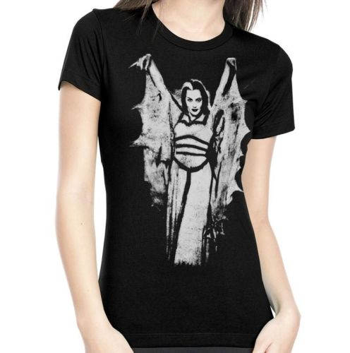 Lily Munster Wings Tshirt