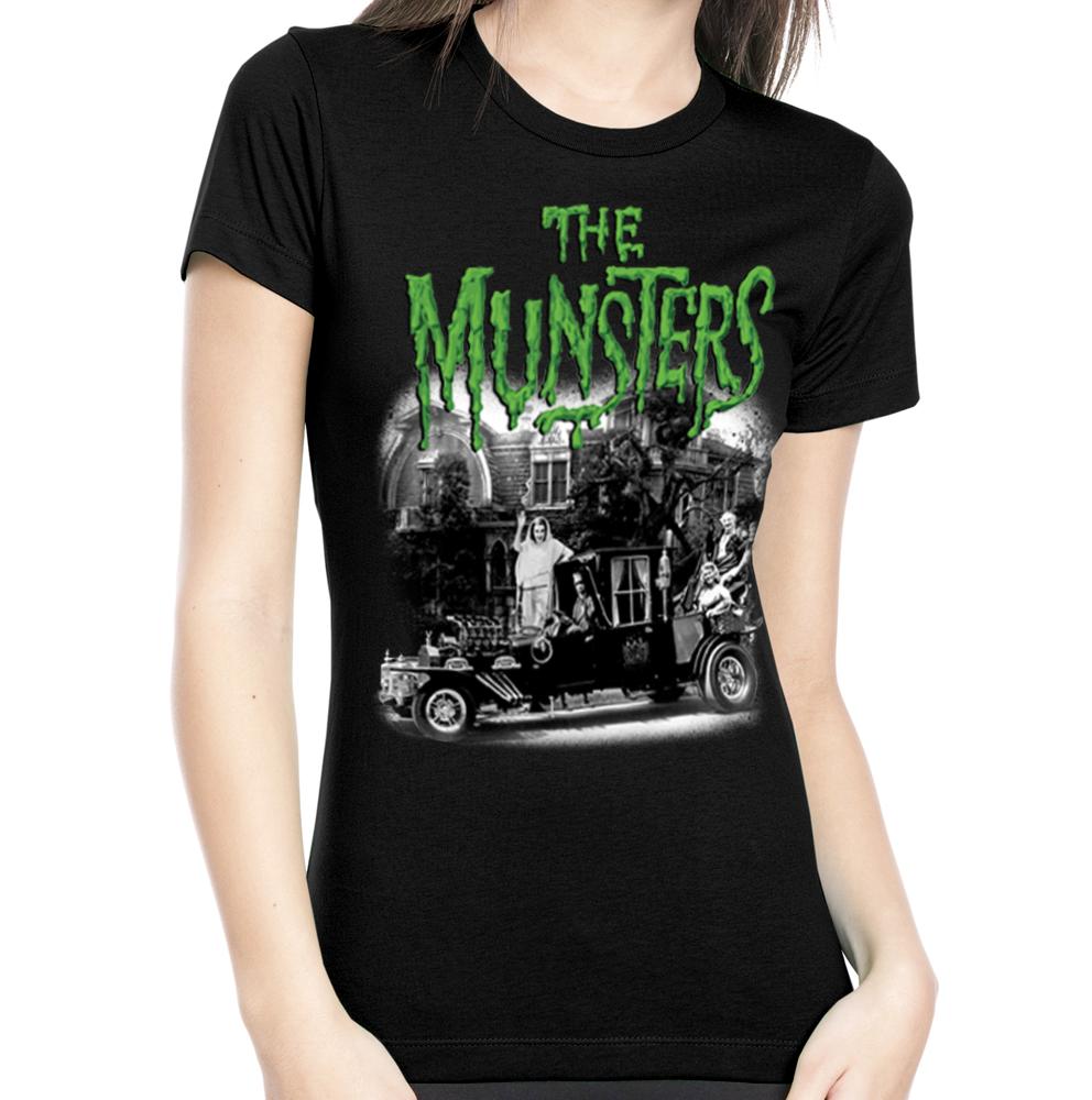 Rock Rebel Munsters Family Coach Tshirt