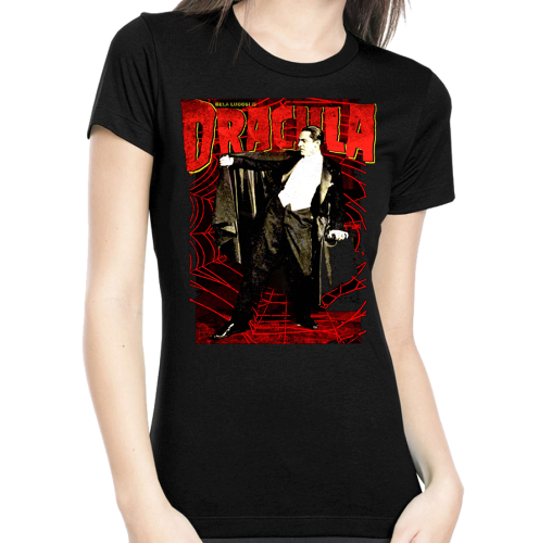 Rock Rebel Dracula Tshirt