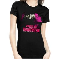 Rock Rebel Bride Of Frankenstein Pink Tshirt