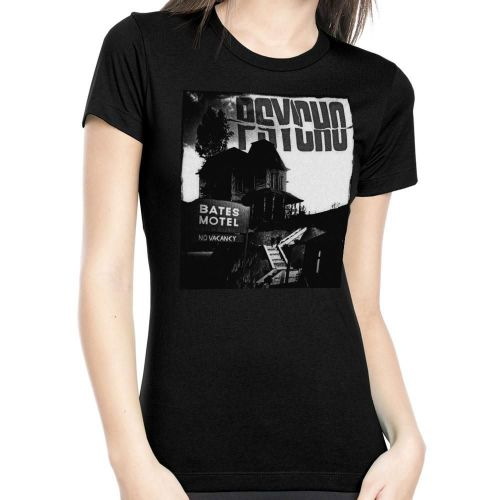 Rock Rebel Psycho Bates Motel Tshirt