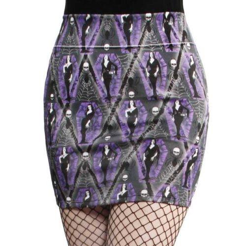 Kreepsville 666 Vampira Arghoul Mini Skirt