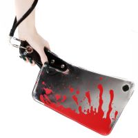 Kreepsville 666 Cleaver Metallic Clutch Bag