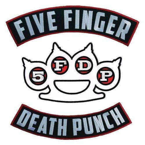 Five Finger Death Punch Triple Back Patch Set
