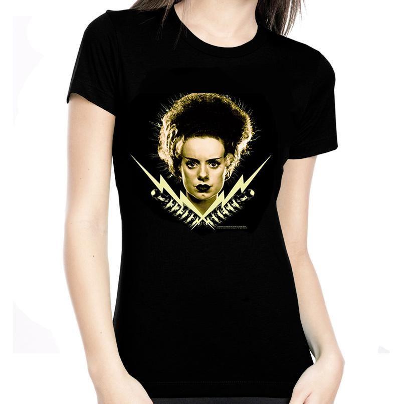 Rock Rebel Bride Of Frankenstein Bolts Tshirt