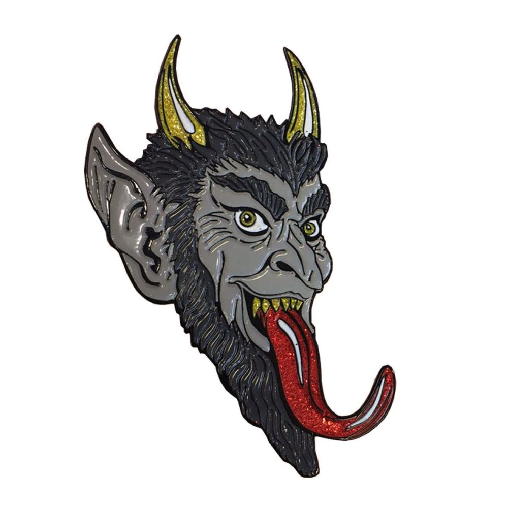 Kreepsville 666 Krampus Badge