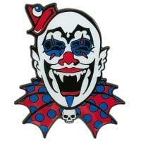 Kreepsville 666 Kreepy Clown Badge