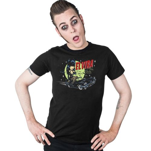 Kreepsville 666 Elvira Macabre Mobile Tshirt