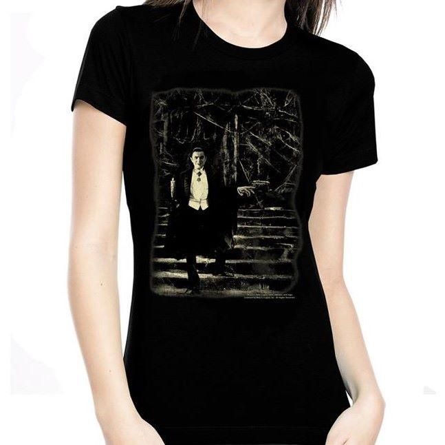 Rock Rebel Dracula Stairs Tshirt