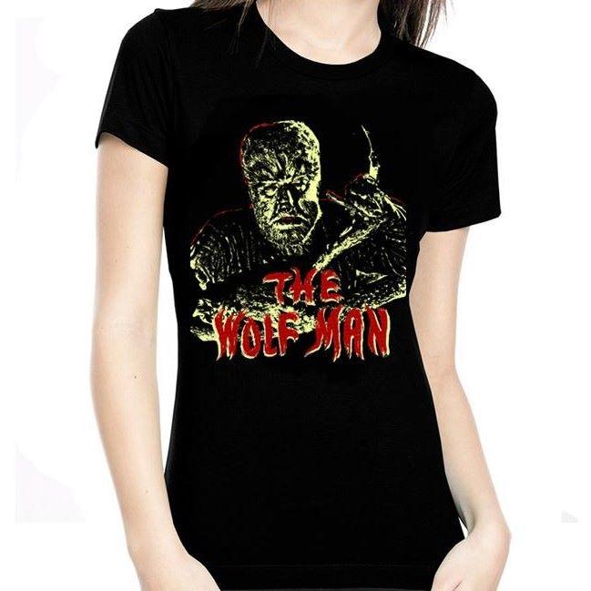 Rock Rebel Wolf Man Tshirt
