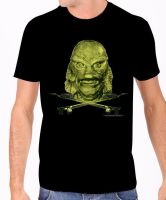 Rock Rebel Creature From The Black Lagoon Tshirt