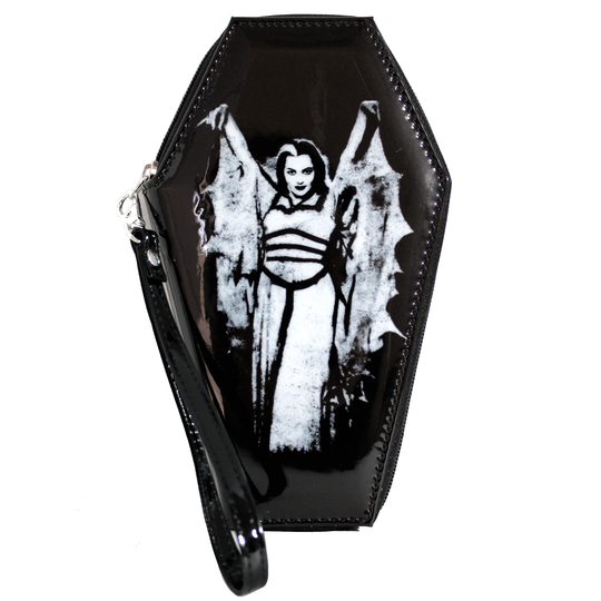 Munsters Lily Munster Wings Coffin Wallet