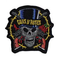 Guns N Roses Skull Pistols Patch