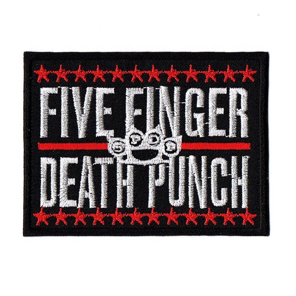 Five Finger Death Punch Logo Patch