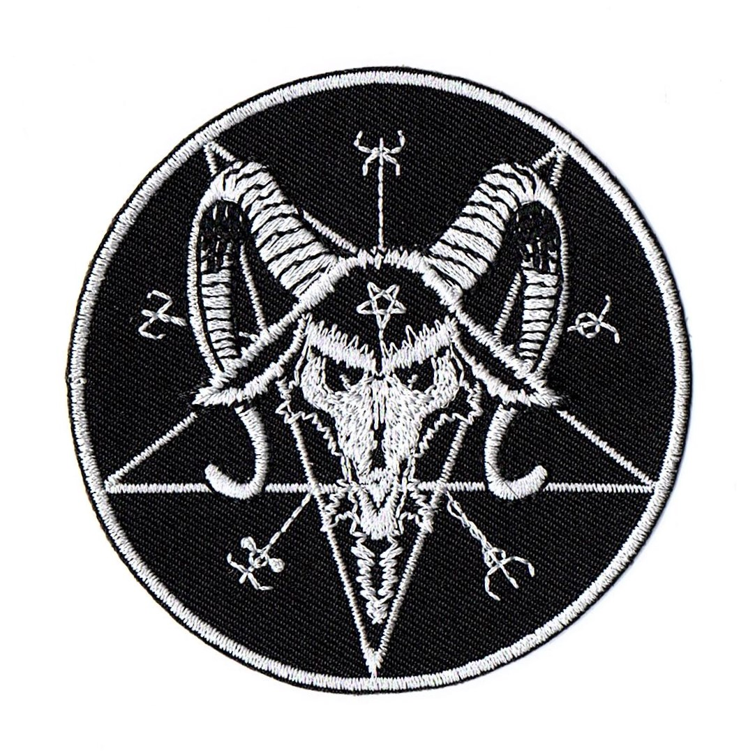 Baphomet Pentagram Patch