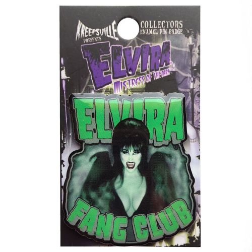 Elvira Fang Club Badge