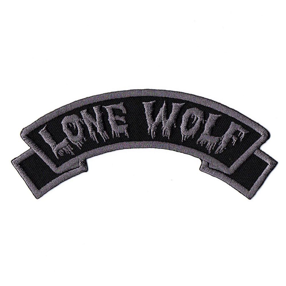 Kreepsville 666 Arch Lone Wolf Patch