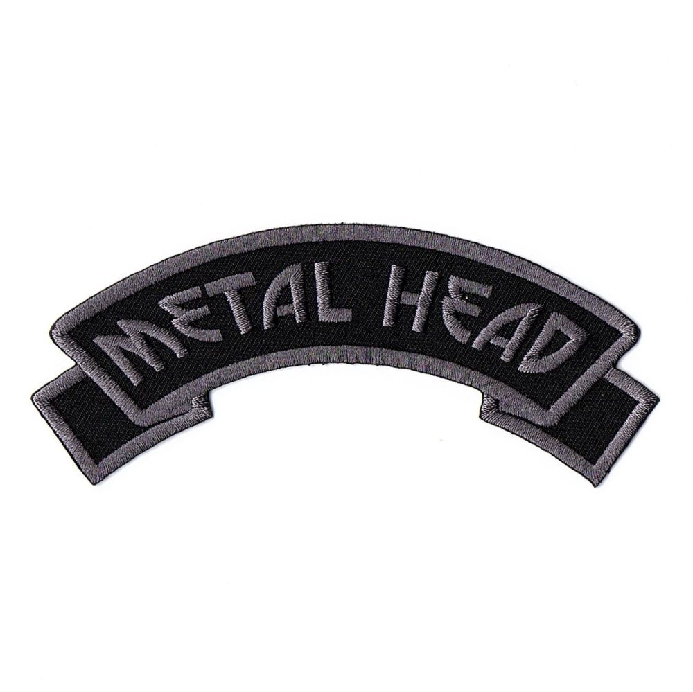Kreepsville 666 Arch Metal Head Patch