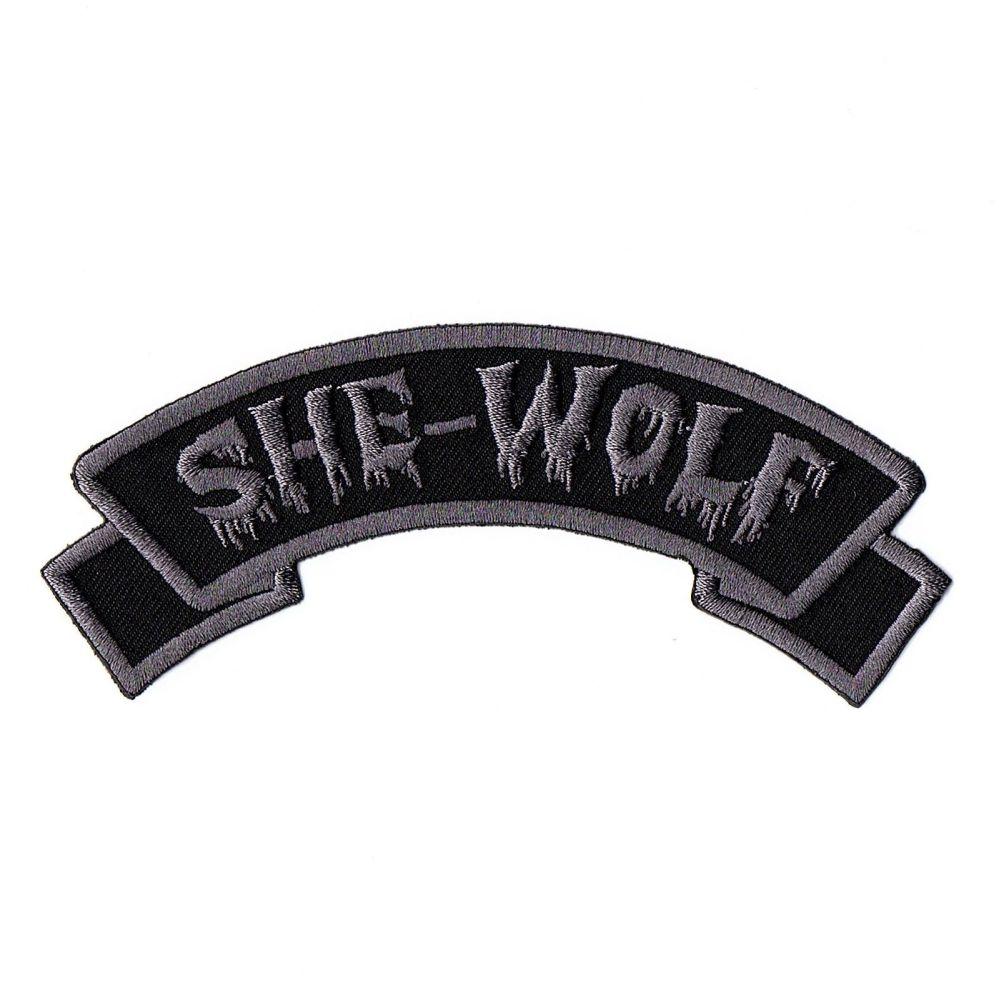 Kreepsville 666 Arch She-Wolf Patch