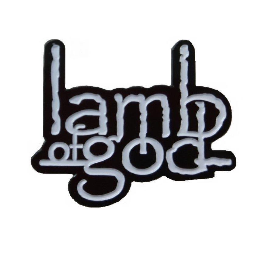 Lamb Of God White Badge