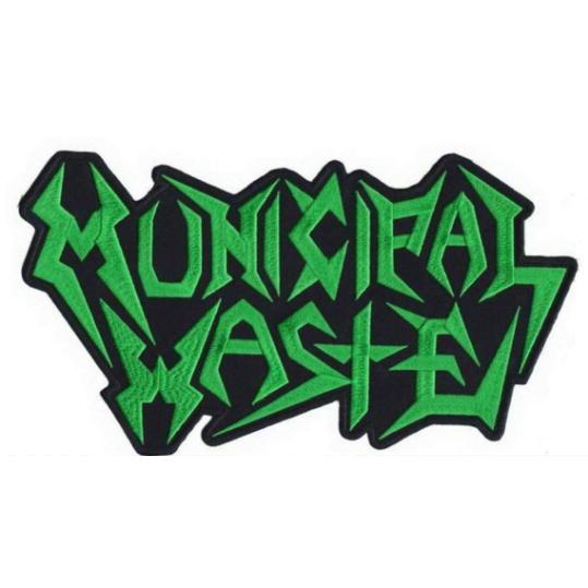 Municipal Waste XL Patch