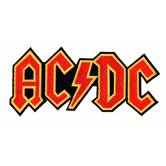 AC/DC Logo XL Patch