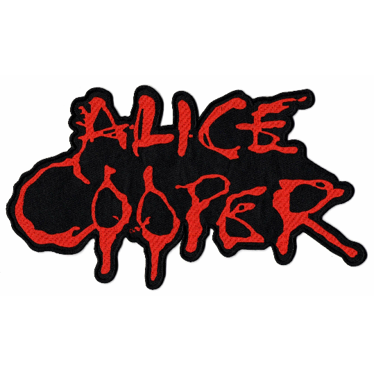 Alice Cooper Logo XL Patch