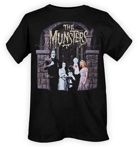 Rock Rebel Munsters Family Portrait Tshirt