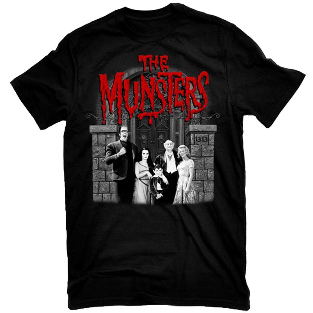 Rock Rebel Munsters Family Portrait Tshirt