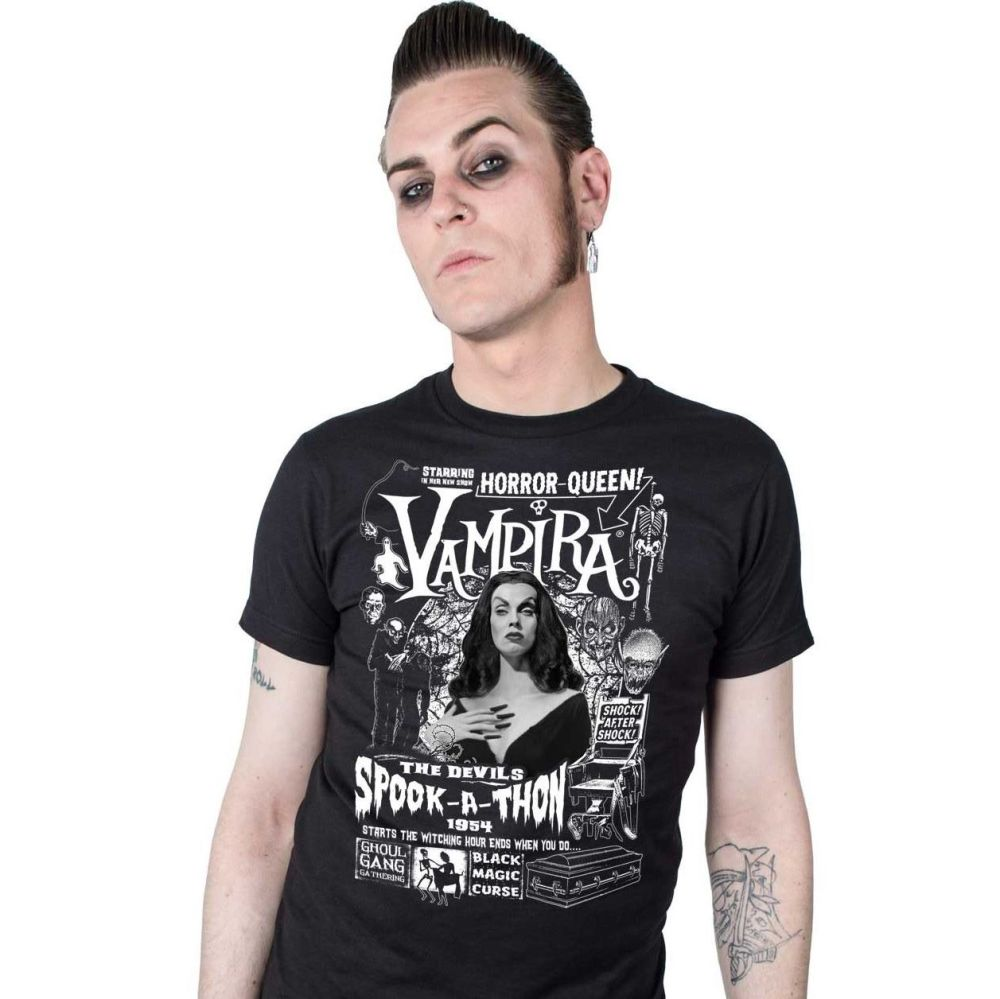 Kreepsville 666 Vampira Spookathon Tshirt