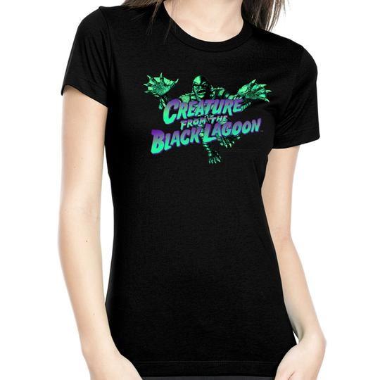 Rock Rebel Creature From The Black Lagoon Swimming Tshirt