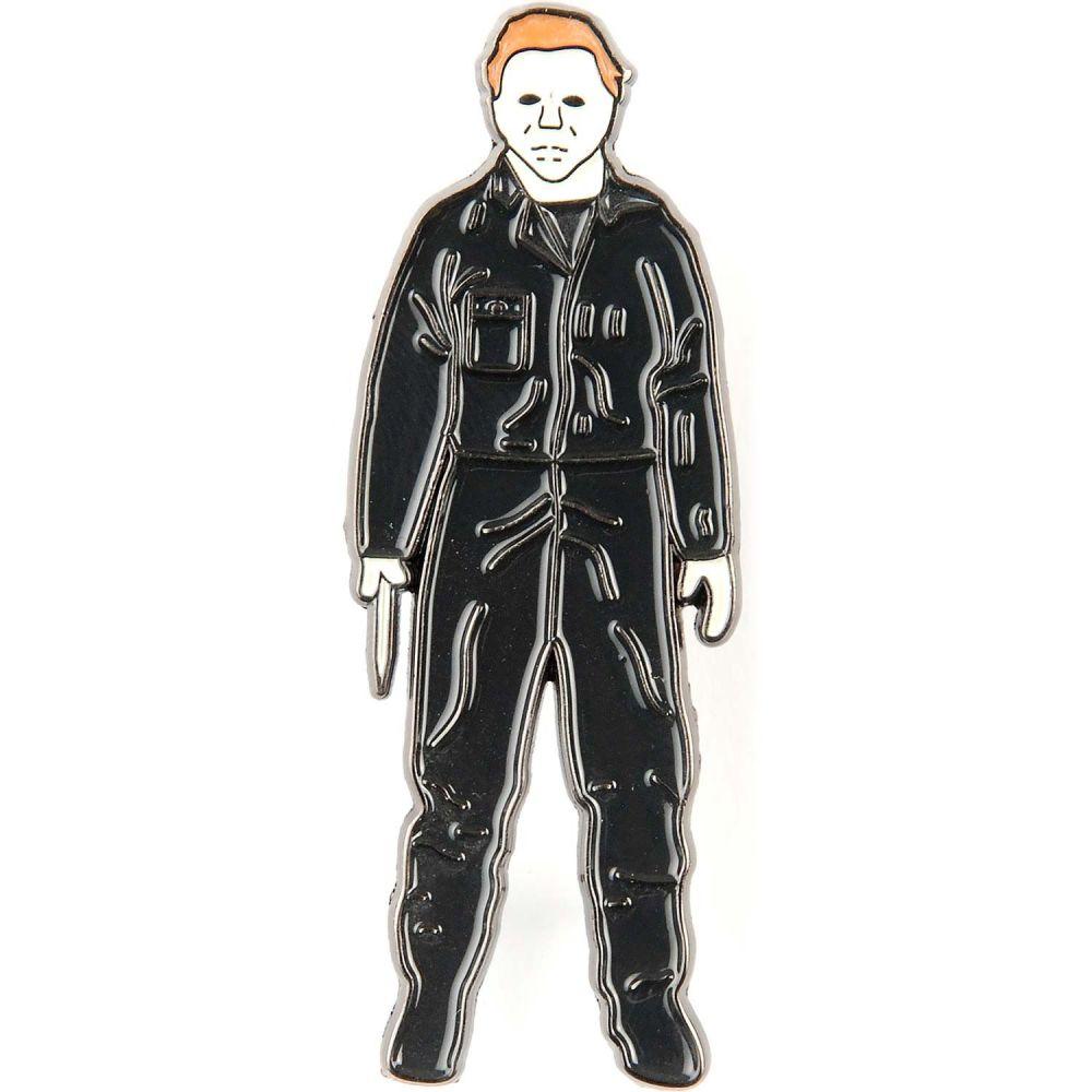 Halloween Michael Myers Standing Badge