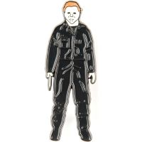 Halloween Michael Myers Standing Badge