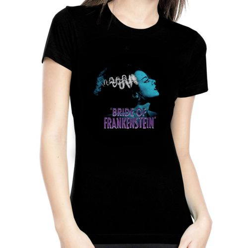 Rock Rebel Bride Of Frankenstein Tshirt