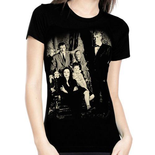 Rock Rebel Addams Family Tshirt