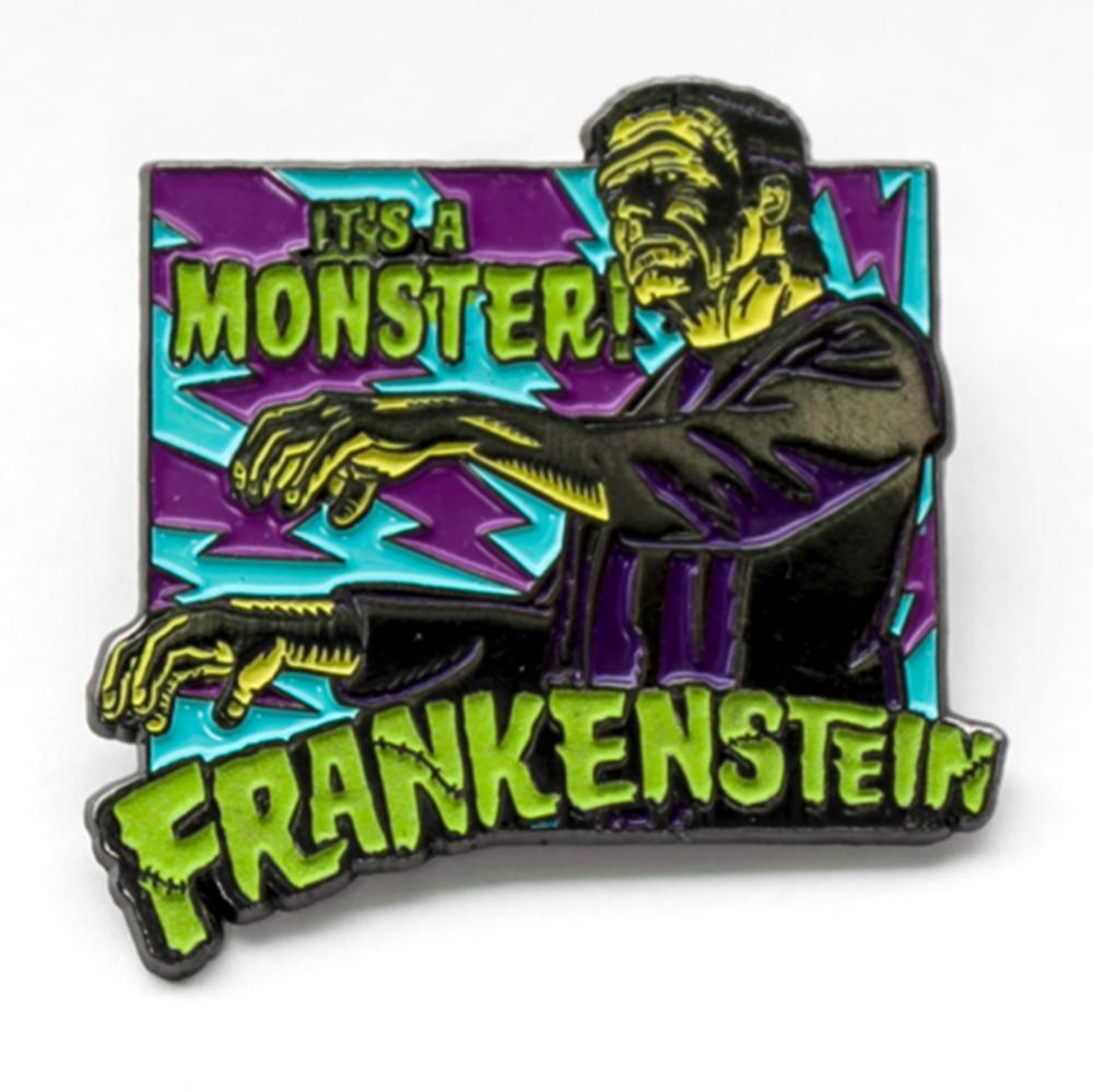 Frankenstein Its A Monster Badge